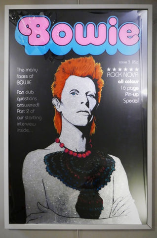Bowie in Pink - Rock Nova Issue 3 By Dan Reaney