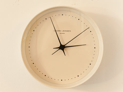 Danish Georg Jensen Wall Clock
