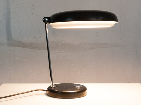 Midcentury Industrial German Desk Lamp