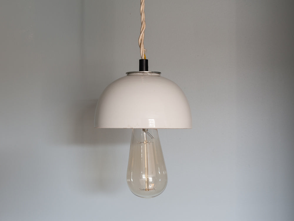 1960s Electrical Porcelain Insulator Hanging Lights
