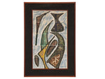 1960's Abstract Tiled Wall Art signed by Castelain