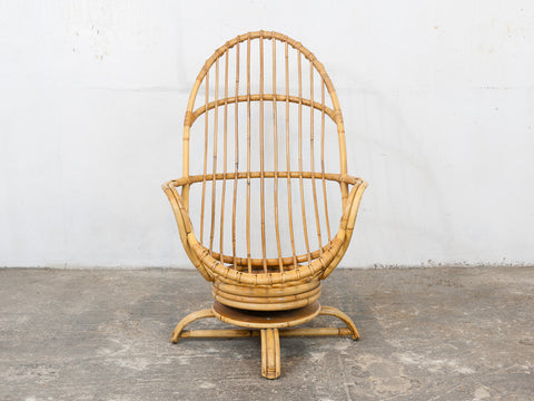 1970s Retro Angraves Cane Rocking Chair