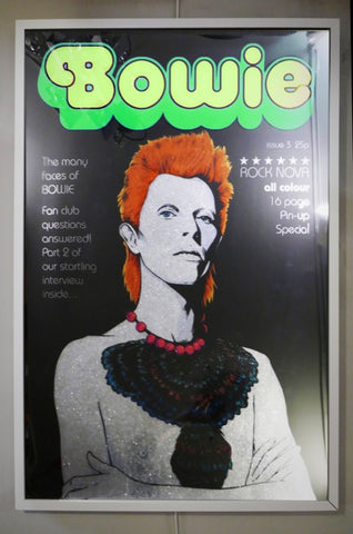 Bowie in Green - Rock Nova Issue 3 By Dan Reaney