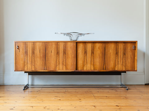 1970s Merrow Associates Rosewood Sideboard by Richard Young
