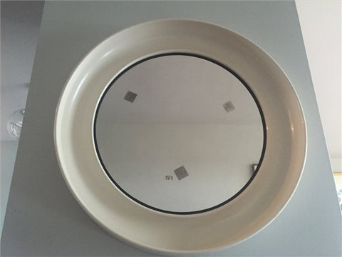 Danish Plastic White Termotex Mirror