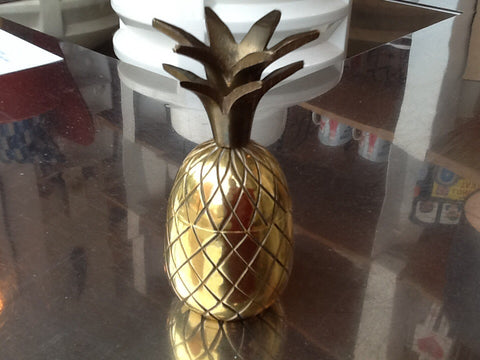 Small Brass Pineapple Cocktail Stick Holder