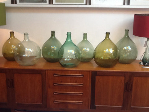 Small Demijohns, Carboys or Bombonieres