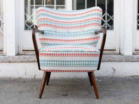 1940's Cocktail Chair in Villa Nova's Shiko Eden fabric