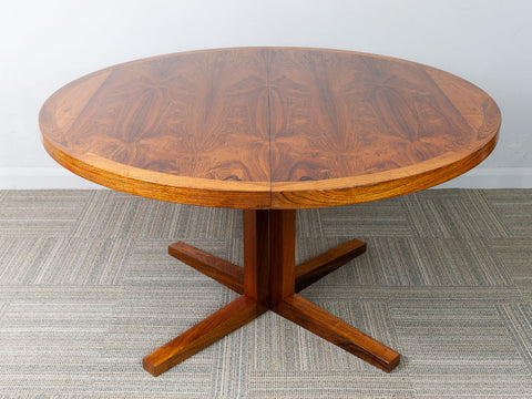 1960s Danish Rosewood Dining Table By John Mortensen For Heltborg Mobler