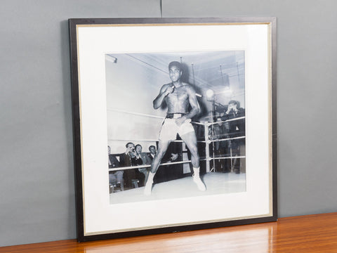 MOHAMMED ALI BLACK & WHITE LENTICULAR BY MATTHEW ANDREWS