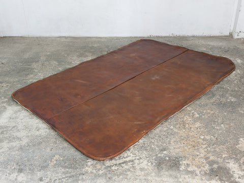 1950's Vintage Leather Gym Mat