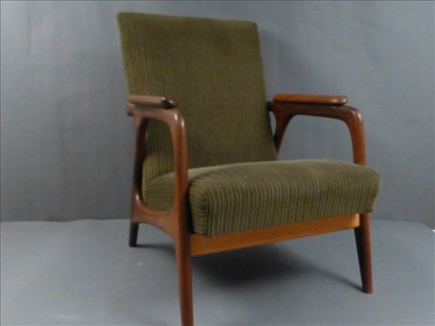 Pair of Danish Teak Armchairs