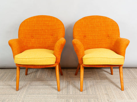 A pair of 1960s Toothill Furniture Makers Cocktail Chairs