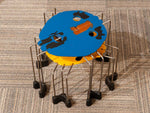 2007 Signed Set of Triple Play Coloured Side Tables by Gaetano Pesce