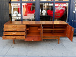 1960s Bath Cabinet Makers Rosewood Veneer Sideboard