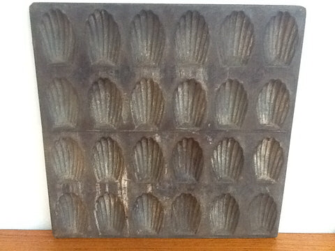 Vintage French Madeleine Baking Tray