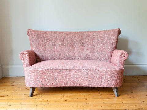 1940S DANISH TWO-SEATER SOFA