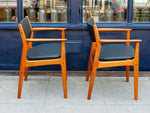 Pair of 1950s Teak Grete Jalk for Glostrup Moden 218 Armchairs