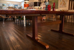 1970s Danish Skovby Mobelfabrik Brazilian Rosewood Dining Table