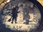 Royal Copenhagen 1985 - The Snowman
