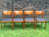 1950's Danish Koefoeds Hornslet Dining Chairs