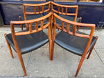 Set of 4 1960s Niels Moller Rosewood Model 79 Dining Chairs