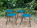 Vintage French Wrought Iron Garden Furniture