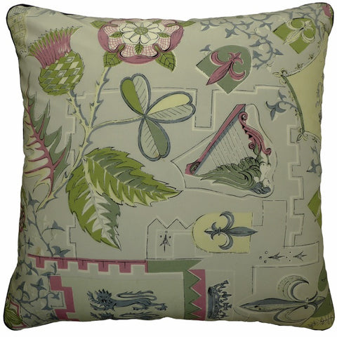 Vintage Cushions - The Royal Thistle. Circa – 1940 & 1977