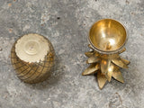 Small Vintage Brass Pineapple