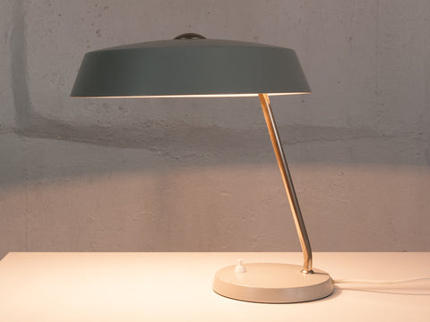 1950's Grey Phillips Desk Lamp