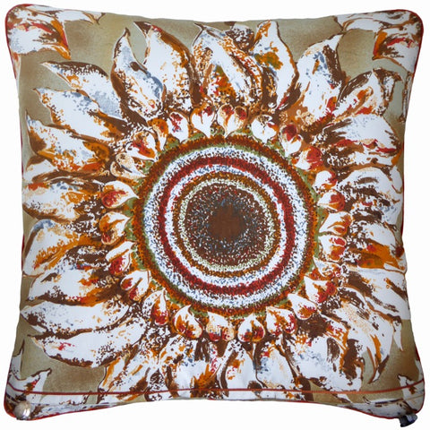 Vintage Cushions - Ferrara Sunflowers
