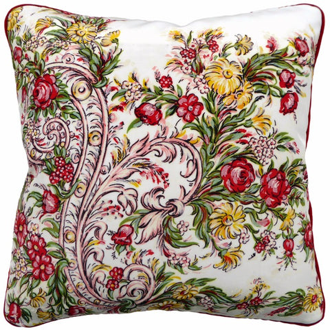 Vintage Cushions - Garden Spray