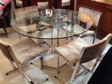 Merrow Associates Dining Table and 4 Chairs