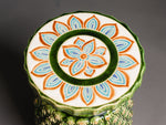 Kitsch Ceramic Pineapple Side Table