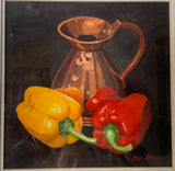 "Brian Keany (1945-2007) ""Peppers"" Watercolour"