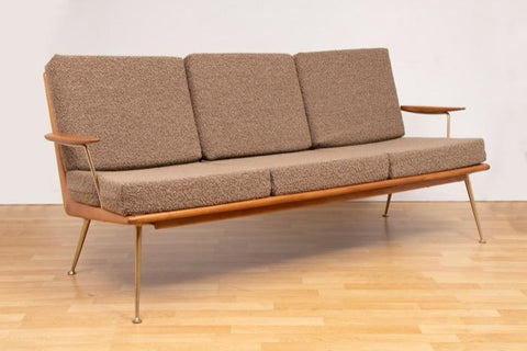1950s Boomerang Sofa by Hans Mitzlaff for Soloform Germany