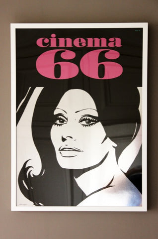 Sofia Loren Cinema 66 Print by Dan Reaney
