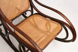 Antique Bentwood Rocking Chair by Thonet c.1890