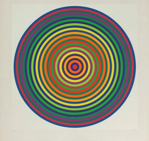 Julio Le Parc 1972 Signed Screenprint 42/200