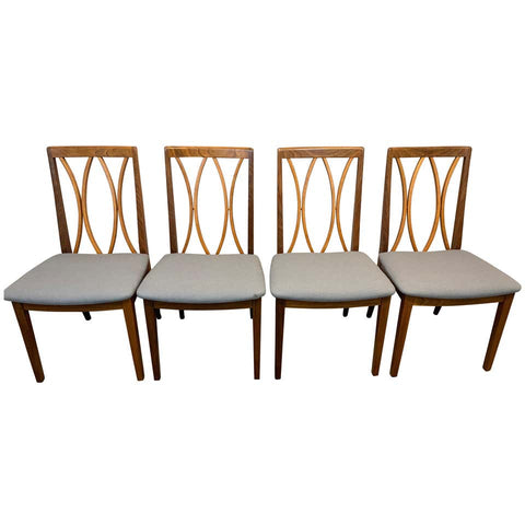 Set of 4 Vintage Teak Dining Chairs by E Gomme for G Plan