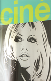 "Brigitte Bardot Painting ""Cine No.4"" by Dan Reaney"