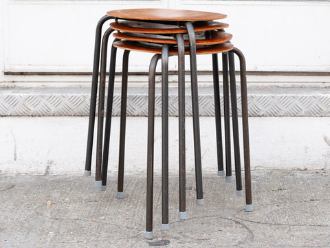 1960's 'Dot' Stacking Stool By Arne Jacobsen