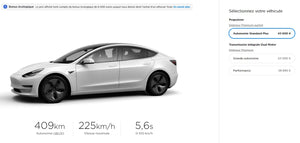 Tesla increase SR+ price by 1000€ in Europe
