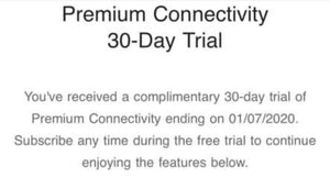 Tesla launch 30-days trial premium connectivity for the end of free connectivity in Tesla Model 3
