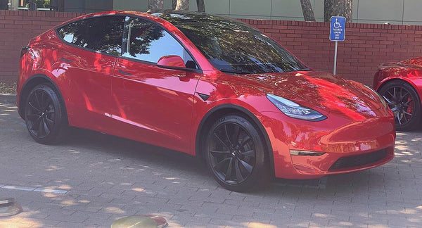 Tesla Model Y prototype
