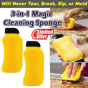 3-in-1 Magic Cleaning Sponge