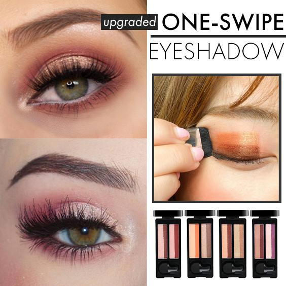 One-Swipe Eyeshadow