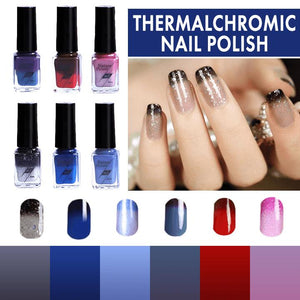 Thermochromic Nail Polish