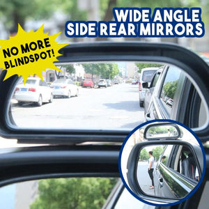 Wide Angle Side Rear Mirrors