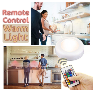 Remote Control Warm Light (Set of 3)
